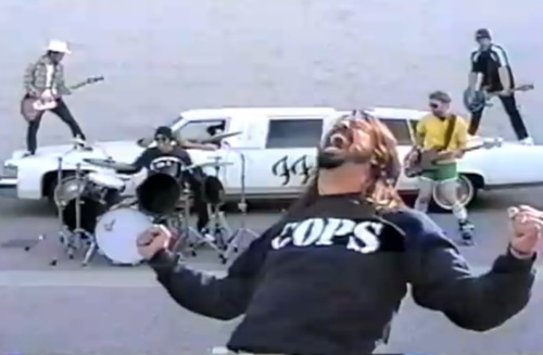 "Photo from Foo Fighters' ""White Limo"" Video"